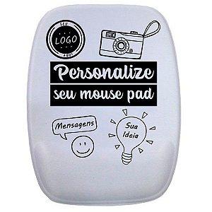Mouse Pad Personalizado Retangular com Apoio