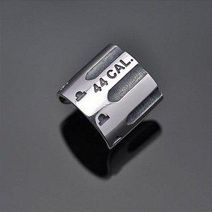 Anel calibre 44 em prata 950k (largo)