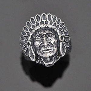 Anel Indio Apache Cacique em prata
