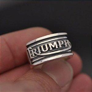 Anel Triunph Mod Quadrado em prata