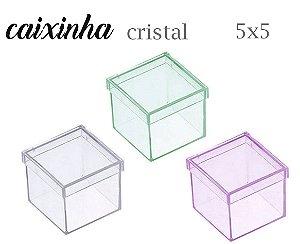 CAIXINHA 5X5 TRANSLÚCIDA