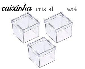 CAIXINHA 4X4 TRANSLÚCIDA
