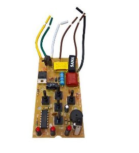 Placa Eletrônica Ventilador Mallory 127v C/ Controle