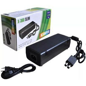Xbox 360 Slim Fonte Original Bivolt 110v 220v 135w.
