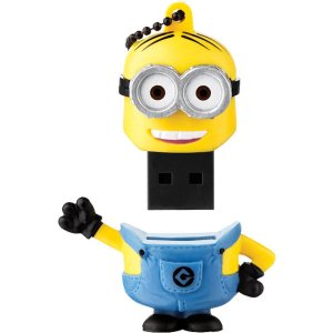 Pen Drive 8gb USB 2.0 Minions Tim PD096 Multilaser BT 1 UN