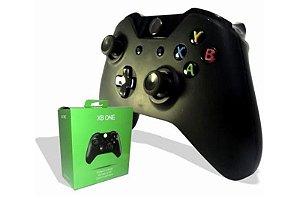 Controle Xbox ONE XONE Wireless Sem Fio Preto KNUP KP 5131