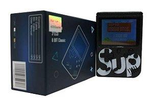 Video Game Portatil 400 Jogos Internos - Mini Game Sup Game - Preto