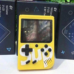 Mini Game Retro C/ 400 Jogos Classicos , Boy Tela 3 Tipo Psp - Amarelo