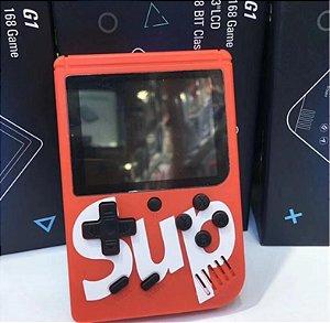 Mini Game Retro C/ 400 Jogos Classicos , Boy Tela 3 Tipo Psp - Vermelho