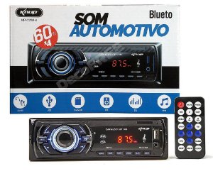 Som Automotivo bluetooth  KNUP KP-C23BH