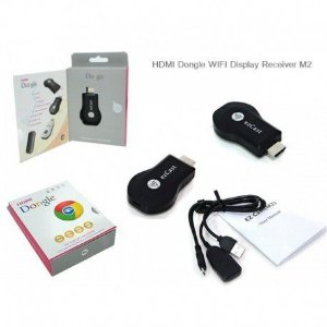 Anycast Google Dongle Hdmi Chrome Cast Wifi Full Hd 1080p