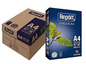 Papel Sulfite A4 75g Caixa Com 10 Resmas Premium Report