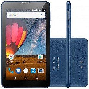 "Tablet Multilaser M7-3G 7"" 8GB Wi-Fi Quad Core NB270"