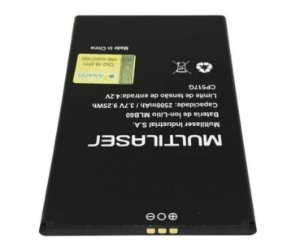 Bateria Celular Multilaser Ms60 3.7v 2500mah - Mlb60