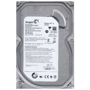 Hd Interno Desktop Seagate Pipeline 2 500GB 5900RPM Sata Ii 3.0Gbs/S ST3500312CS