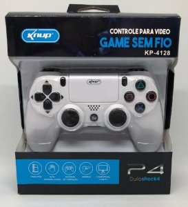 Controle Playstation 4 PS4 Sem Fio Knup KP-4128