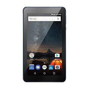 Tablet Multilaser M7S Plus Quad Core Câmera Wi-Fi 1 GB de RAM Tela 7 pol. Memória 8GB - NB274 - Azul