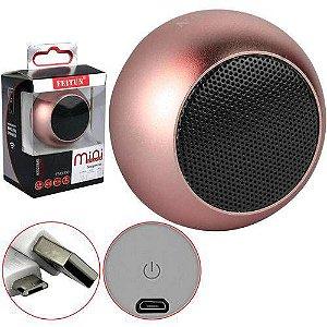 Caixa De Som Bluetooth Mini Speaker Feitun
