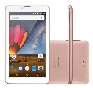 Tablet M7-3g Plus - Golden Rose - Nb271 - Multilaser