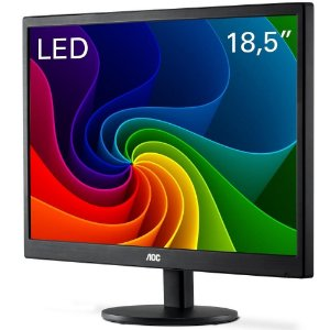 Monitor AOC LED 18.5´ Widescreen, VGA - E970SWNL