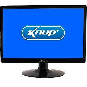 Monitor Led Knup 19 p - Vga Inclinação 1440x 900 60 Hz