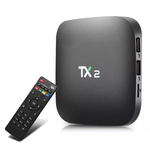 Aparelho Smart Tv Box Tx2 4k 2+16gb Bluetooth Android 7.1 Tv - Grátis 1 Mês de App de Canais
