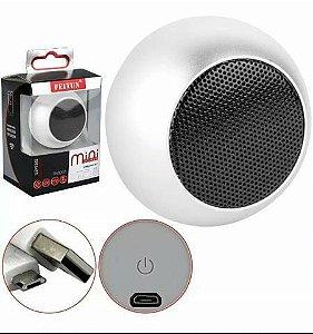 Caixinha Som Bluetooth Tws Metal Mini Speaker 3w Portátil