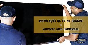 Instalação de TV (Painel de Madeira, Alvenaria ) - Instalação Exclusivo para Região Metropolitana de Belém