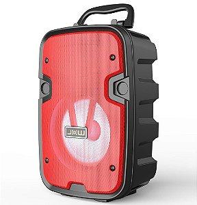 Caixa de Som Bluetooth Portátil Kimiso KM-2002 Usb SD - Preto
