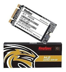 Hd Ssd Kingspec M.2 2242 M2 128gb p/ Notebook Multilaser e outros