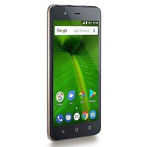 "Smartphone Multilaser MS50L P9061, 5"", 16 GB, 4G, Dual Chip, Câmera 8MP, Android"