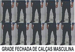 GRADE DE CALÇA MASCULINA ATACADO