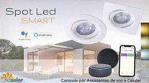 Spot Led Smart 5w Wi-fi Conexão Alexa Google Home + Garantia