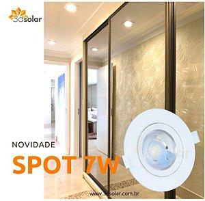 Spot Led Embutir SMD 7w Par20 Redondo com Garantia