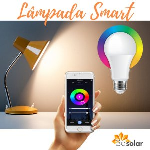 Lâmpada Smart Wi-fi Led 9w Colorida Rgb E Branco - Bivolt ⭐️⭐️⭐️⭐️⭐️