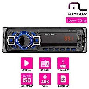 Auto Rádio Multilaser New One