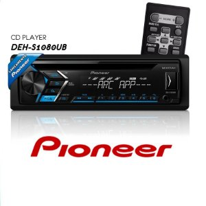 CD Player Pioneer Deh-s1080UB com Usb Aux Rca MP3 Interface Smartphone Aplicativo Mixtrax Pioneer ARC