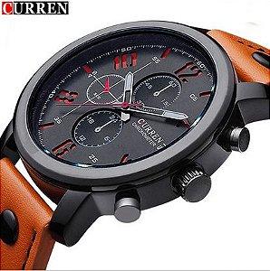 Relógio de pulso quartzo de luxo