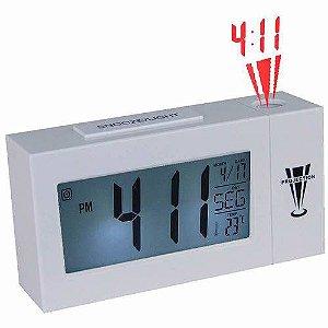 50d5ebbc63c Relógio de mesa digital com projetor de horas