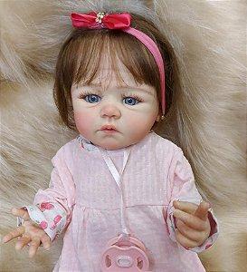 Bebê Reborn Yasmin - Pronta entrega