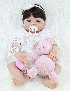 Bebê Reborn Maria Eduarda - PRONTA ENTREGA