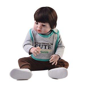 Bebê Reborn Rodrigo - Pronta entrega