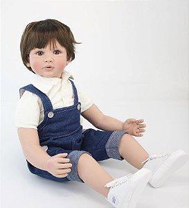 Bebê Reborn Cristiano - PRONTA ENTREGA