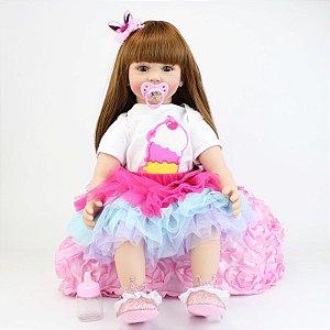 Bebê Reborn Lily - PRONTA ENTREGA