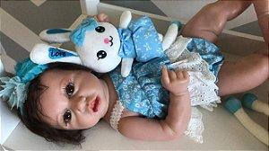 Bebê Reborn Safira - Pronta entrega