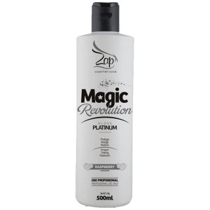 Magic Revolution Gloss Platinum  Matizador Platinado Zap Cosméticos 500ml