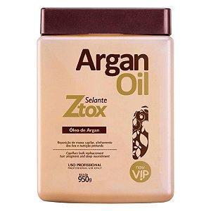 Ztox Argan Oil Selante Vip Cosméticos Nano Crystal Technology 950g