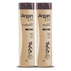 Kit Argan Oil Manutenção Vip Cosméticos (Shampoo + Condicionador)