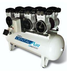 Compressor DA8000-120VF - Isento de Óleo AirZap
