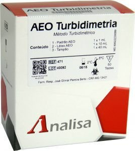 Reagente AEO TURBIDIMETRIA - MHLab